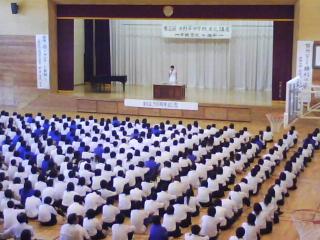上野裕一郎選手と田幸寛史監督講演会