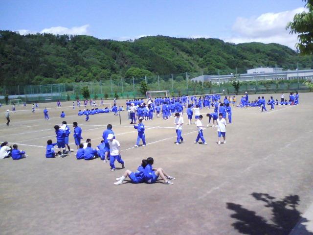 クラスマッチ開催